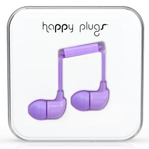 Happy Plugs Lavender Earbud слушалки с Mic & Remote
