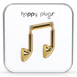 Happy Plugs Gold Earbud слушалки с Mic & Remote