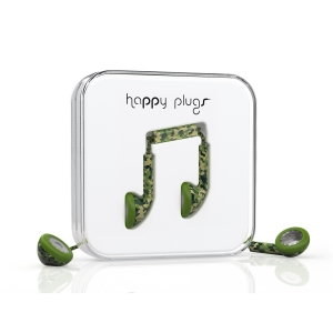 Happy Plugs Camouflage Earbud слушалки с Mic & Remote