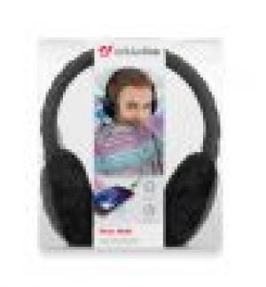 Зимни стерео слушалки с микрофон черни