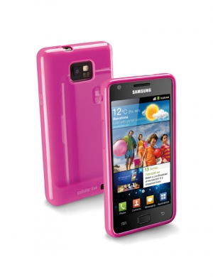 Shoking case за Sams GalS2 I9100 розов