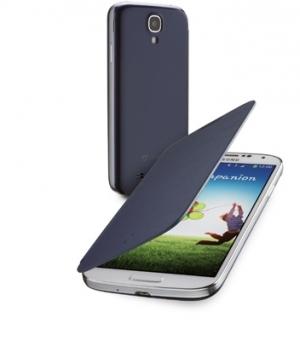 Backbook за Samsung Galaxy I9500 S4 син