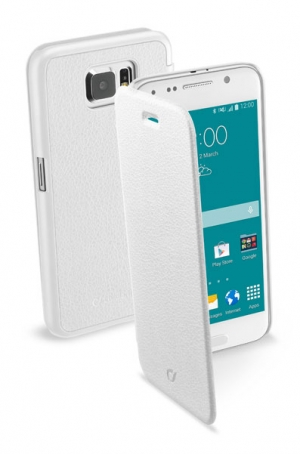 Book Essential за Samsung Galaxy S6 бял
