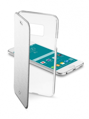 ClearBook калъф за Samsung Galaxy S6 сребрист