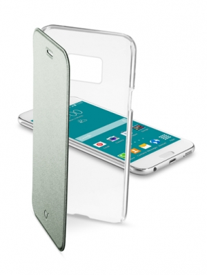 ClearBook калъф за Sams Gal S6 зелен
