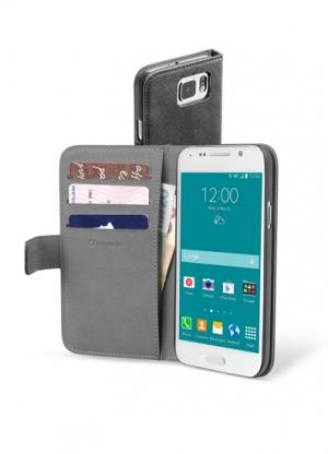Book Agenda за Samsung Galaxy S6 черен