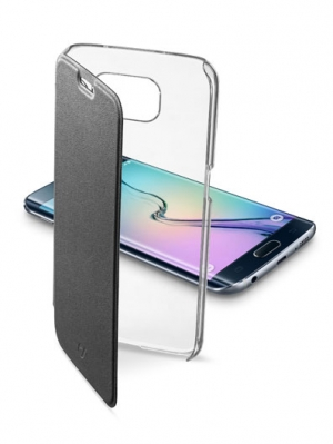 ClearBook калъф Samsung Galaxy S6 Edge черен
