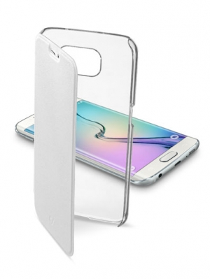 ClearBook калъф Samsung Galaxy S6 Edge бял