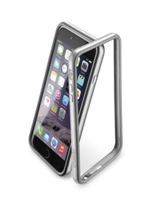 Bumper Сатен за iPhone 6 + сив
