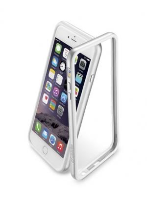Bumper Сатен за iPhone 6 5 сребрист