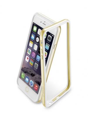 Bumper Сатен за iPhone 6 + златен