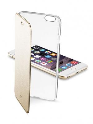ClearBook  калъф за iPhone6 + златист