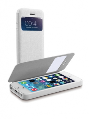 Book ID калъф за iPhone 5S/5 бял