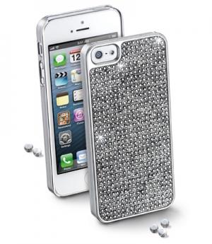 Bling калъф за iPhone 5 сребрист