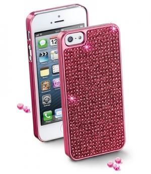 Bling калъф за iPhone 5 розов