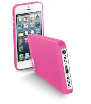 035 Ултра тънък калъф за iPhone 5 розов