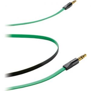 3.5mm - 3.5mm стерео кабел Locusta зелен