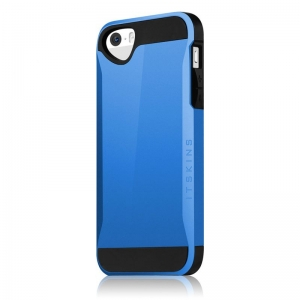Evolution усилен калъф за iPhone 5/S син