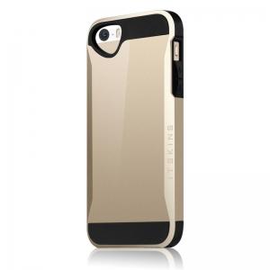 Evolution усилен калъф за iPhone 5/S златист