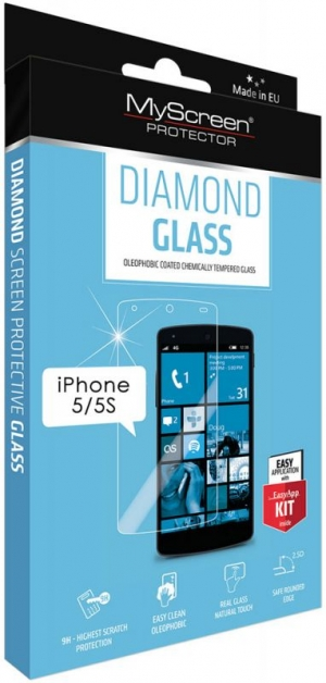 Diamond glass за iPhone 5