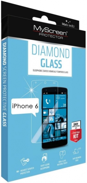 Diamond glass за iPhone 6