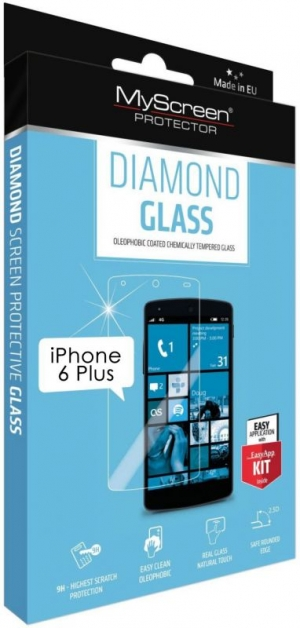 Diamond glass за iPhone 6+
