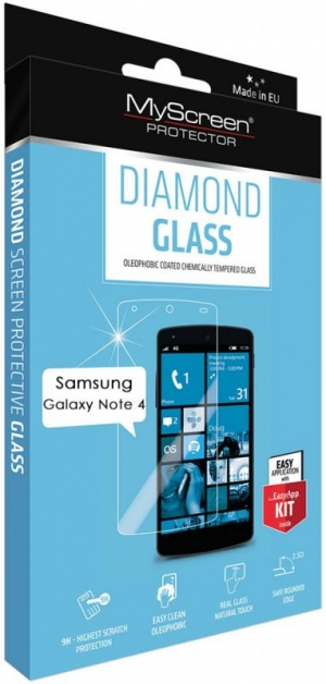 Diamond glass за Sams Galaxy Note 4
