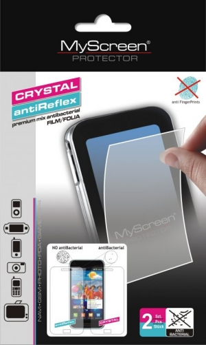 Кристал и антибл фолио за iPhone 4