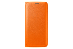 Samsung Galaxy S6 Edge,G925,Flip Wallet(PU),Orange