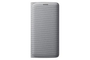 Samsung Galaxy S6 Edge,G925,Flip Wallet,Silver