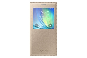 S View Cover Galaxy A7 Gold