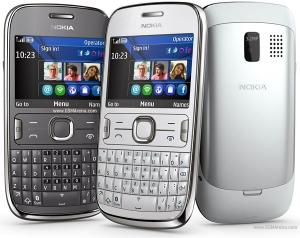 Кристал и антибл фолио за Nokia Asha 302