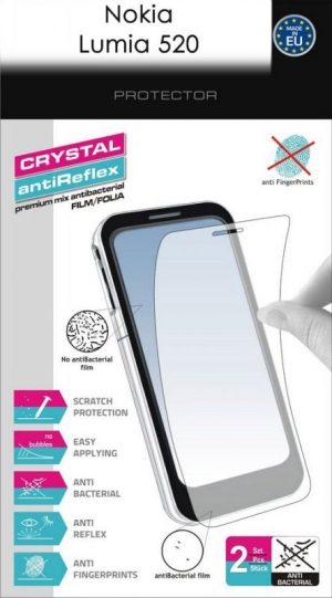 Кристал и антиблясък фолио за Lumia 520
