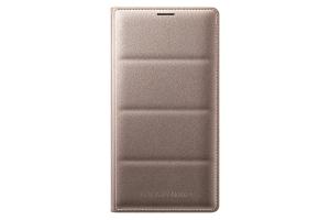 Flip Wallet Samsung Galaxy Note 4 Gold
