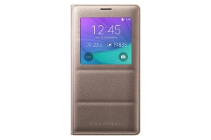 S View Cover Samsung Galaxy Note 4 Gold