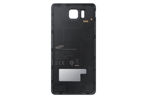S Charger Cover Samsung Galaxy Alpha Black