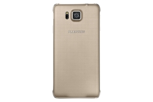 Back Cover Samsung Galaxy Alpha Gold