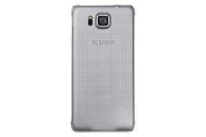 Back Cover Samsung Galaxy Alpha Silver