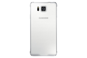 Back Cover Samsung Galaxy Alpha White