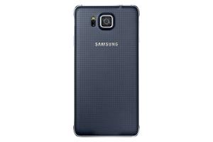Back Cover Samsung Galaxy Alpha Black