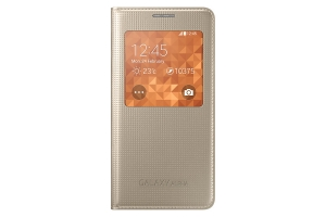 S View Cover Samsung Galaxy Alpha Gold