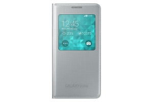 S View Cover Samsung Galaxy Alpha Silver