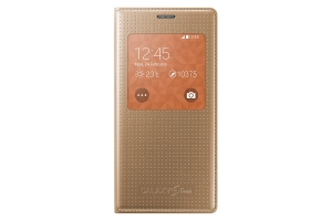 S View Cover Samsung Galaxy S5 Mini copper GOLD