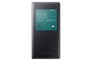 S View Cover Samsung Galaxy S5 Mini charcoal BLACK