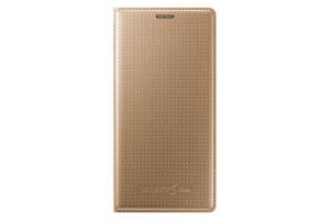 Flip Cover Samsung Galaxy S5 Mini copper GOLD