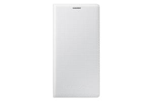 Flip Cover Samsung Galaxy S5 Mini shimmery WHITE