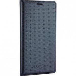 Flip Cover Samsung Galaxy S5 Mini charcoal BLACK