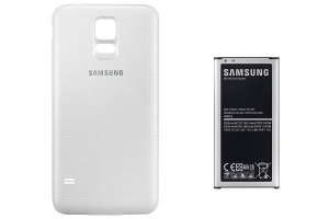 Extended Battery Kit Samsung Galaxy S5 white