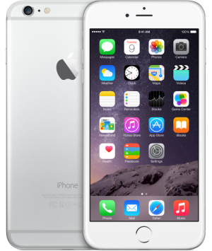 Apple iPhone 6 Plus,Silver,128GB