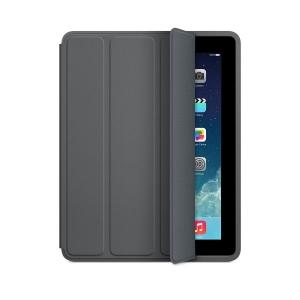 Apple iPad Smart Case - Polyurethane - Dark Gray